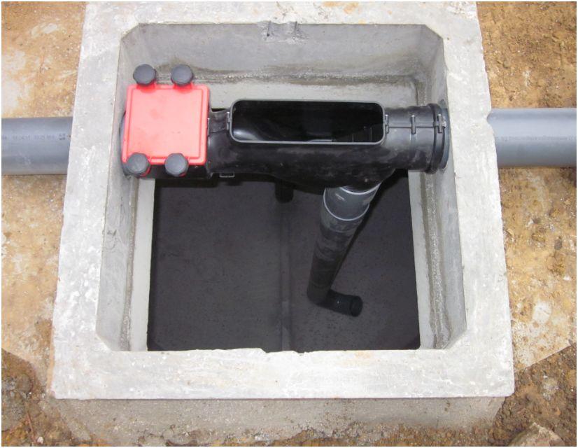Les rehausses du trou de visite aquafree t l - Rehausse chambre de visite beton ...