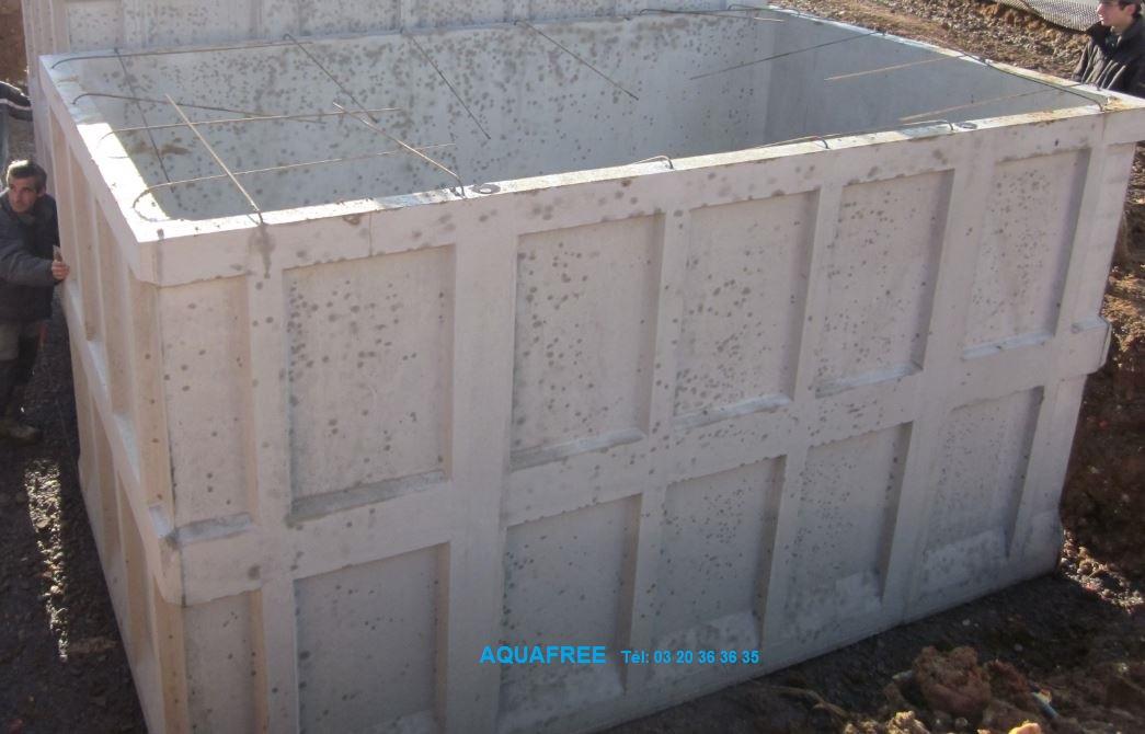 Container 20.000 litres. Hauteur 2,30 m.
