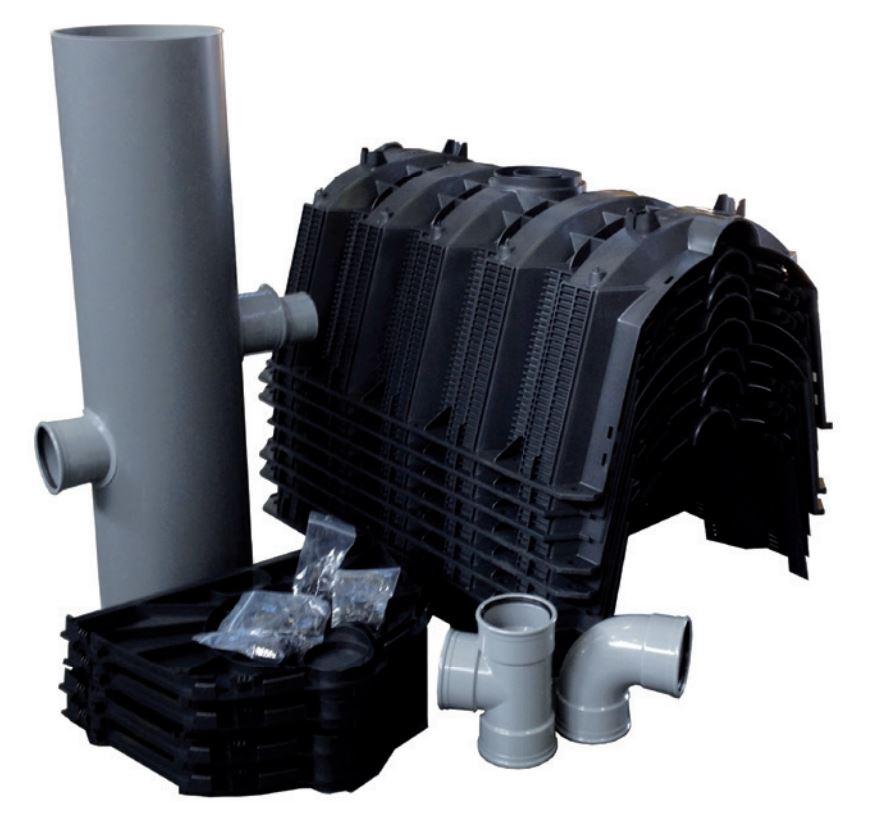 Kit d'infiltration d'eaux pluviales
