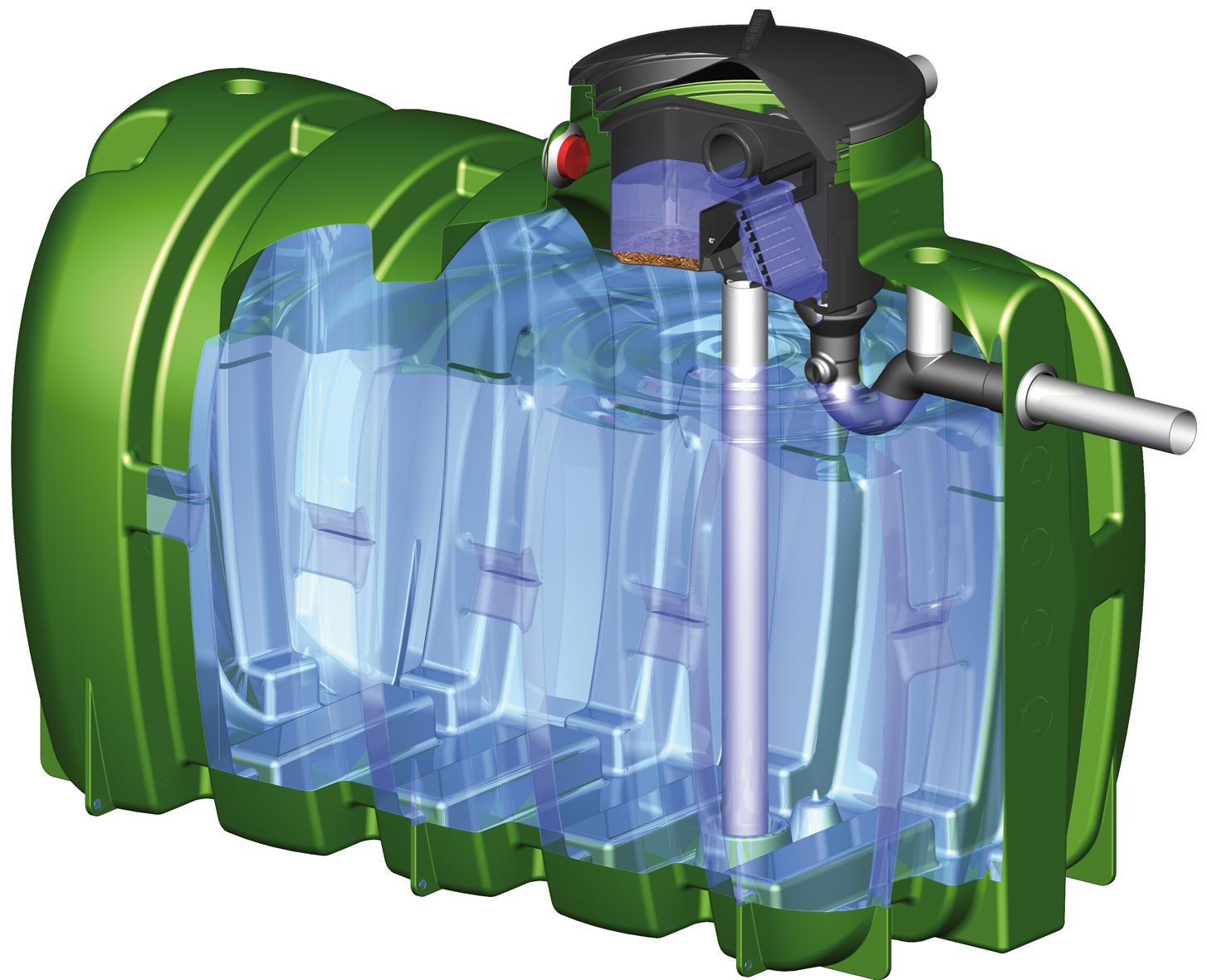 Aquacuve votre sp cialiste de la r cup ration d 39 eau de pluie - Bac recuperation eau de pluie ...