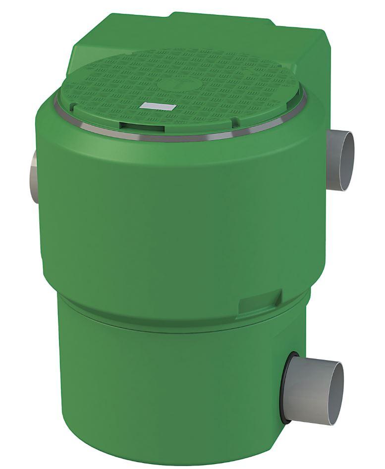 Filtre eau de pluie extérieur grande capacité (jusqu'à 3.300 m² de toiture)