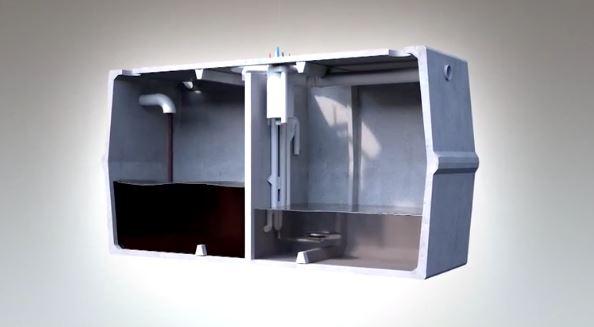 Microstation d'épuration de 4 à 8 équivalent habitants